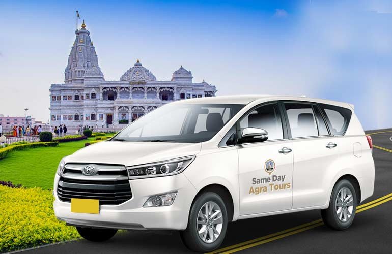 Delhi to Mathura Vrindavan One Way Taxi