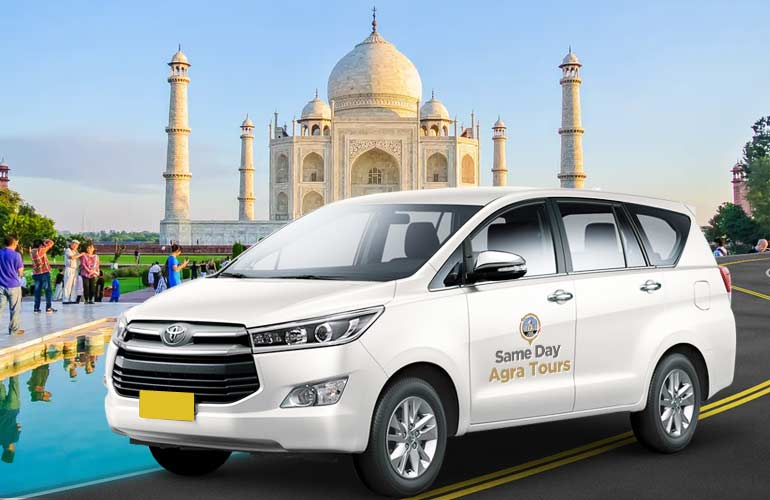 Delhi to Agra One Way Taxi
