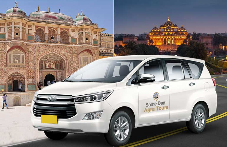 Jaipur to Delhi One Way Taxi